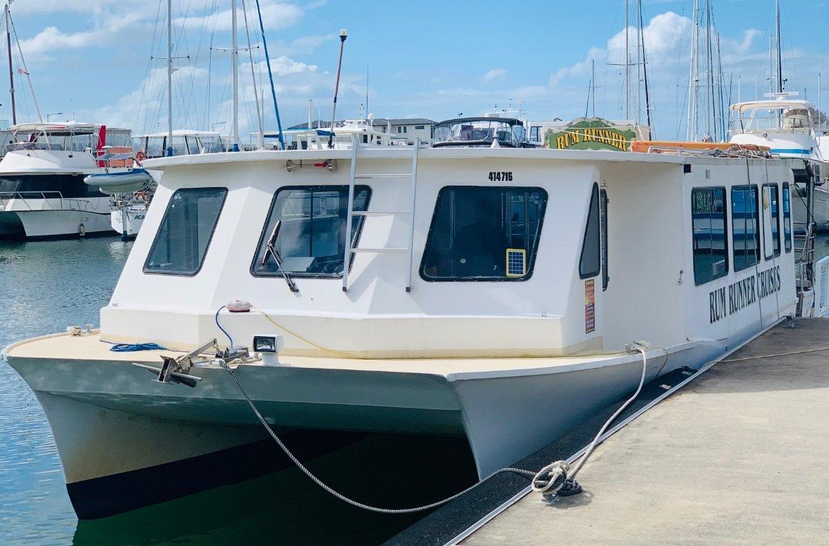 Nustar Catamaran Nustar Power Catamaran
