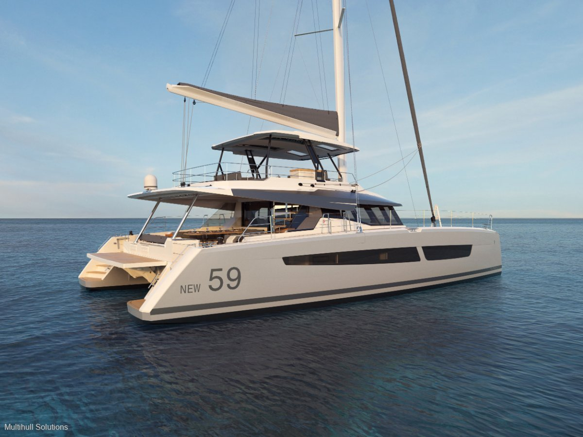 Fountaine Pajot Samana 59 New Model Europe or Local Delivery