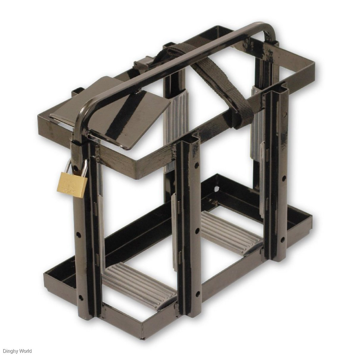 ARK JERRY CAN HOLDER - TOP LOAD - WITH PADLOCK ONLY $ 65.00