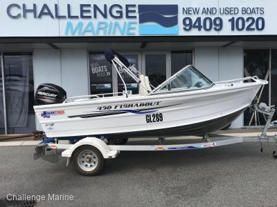 "Quintrex 430 Fishabout ""2019"" Model boat package!!"