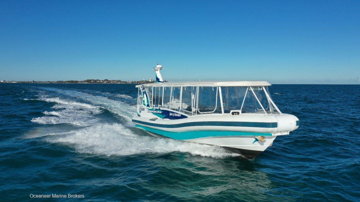 Naiad 13.5 Charter Vessel