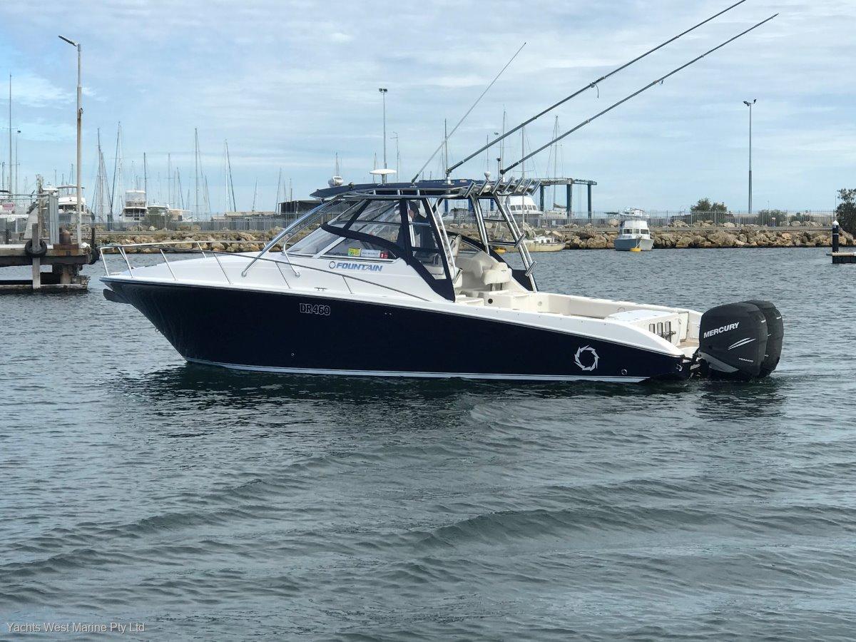 Fountain 33 Sport Fish Cruiser:FOUNTAIN 33 SF by YACHTS WEST MARINE 9335 7788