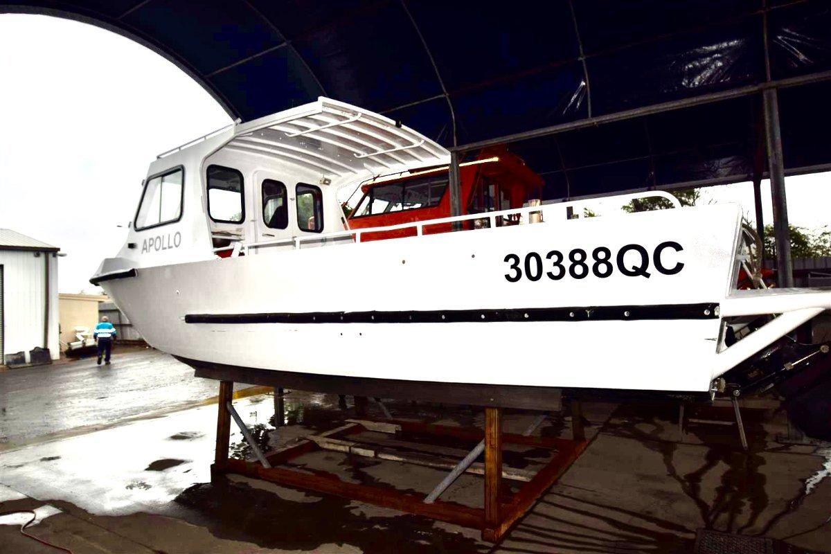 Aluminium Work Boat