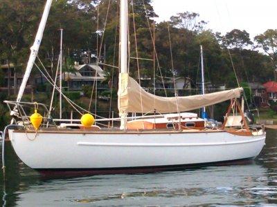Wally Ward Classic Yacht JANAWAY