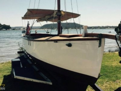 Classic Gaff rigged Day Sailor