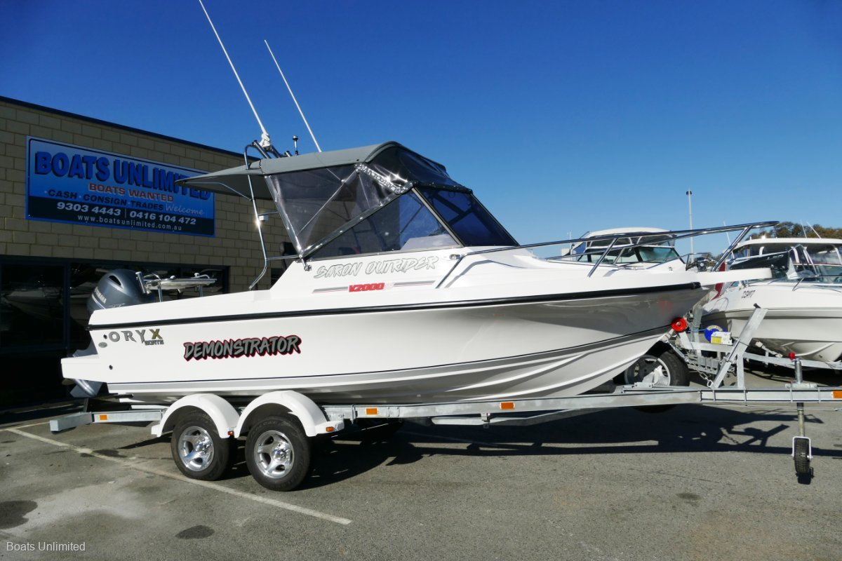 Baron Outrider 2020 Sportsfisherman SOLD.. SOLD... SOLD... ANOTHER JUST INTO STOCK:Quality boats wanted!  Let me sell yours here today! Cash, Consign or Trade 9303 4443.