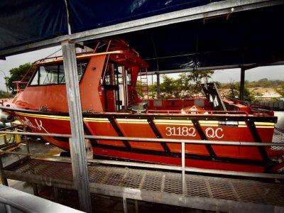 Aluminium Ex Rescue Vessel- Click for more info...