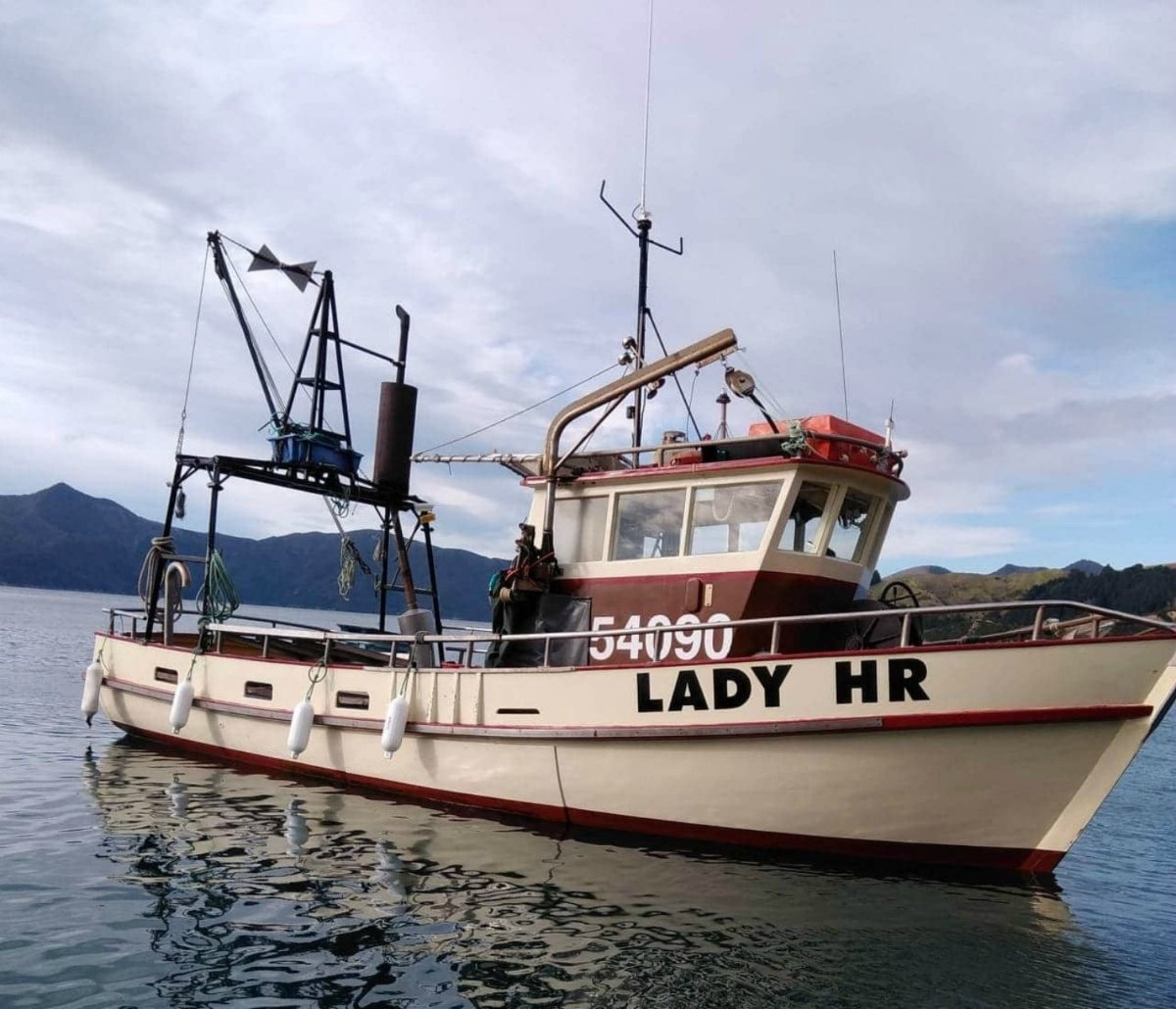 Fishing Vessel Trawler