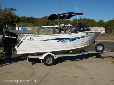 Trailcraft 540 Freestyle 2006 model 115hp four stroke