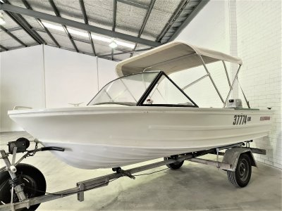 Quintrex 450 Fishabout MK II FRESHLY SERVICED TURN KEY READY TO GO