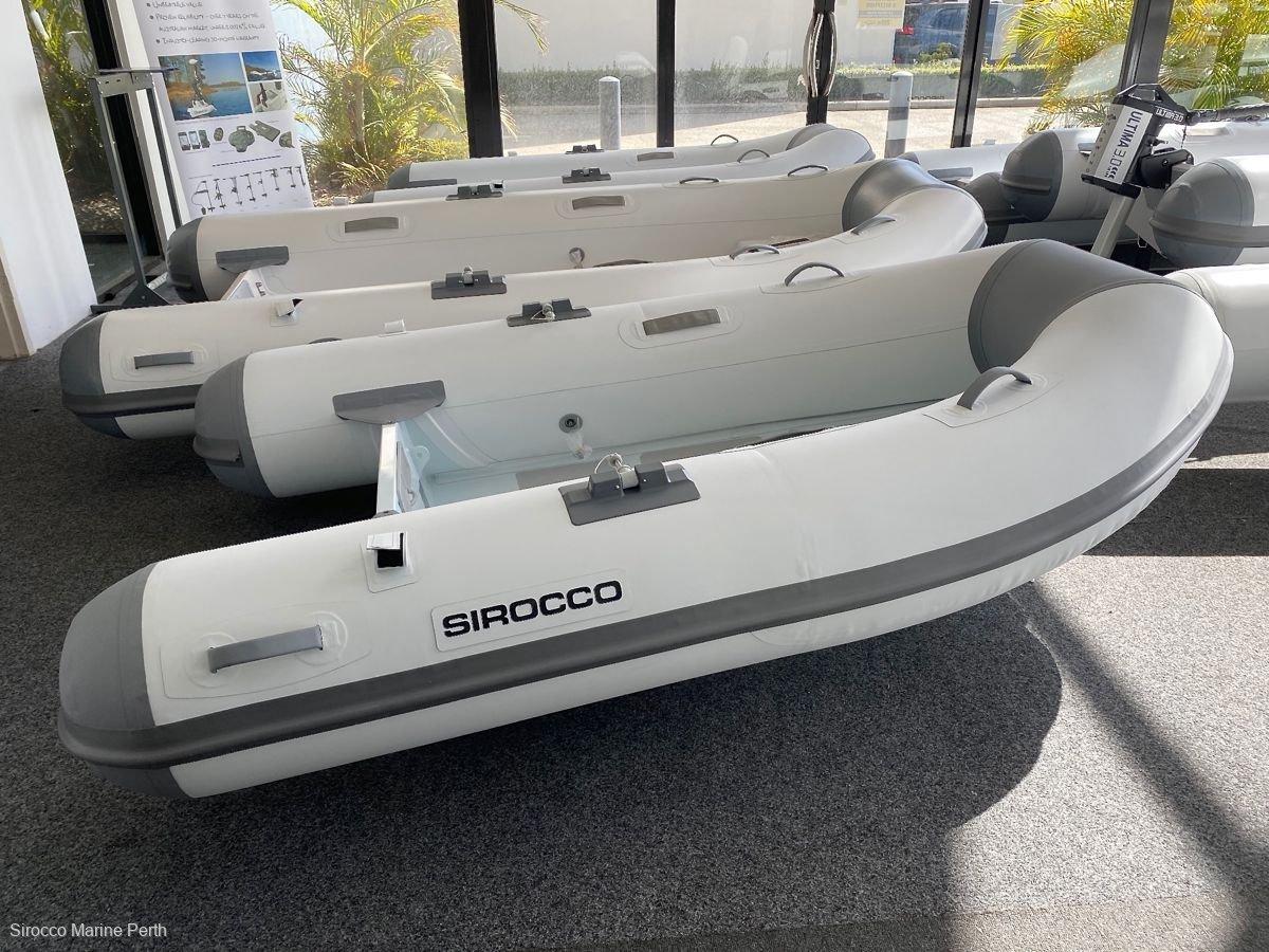 Sirocco Rib-Alloy 240 2.4m Aluminium / Hypalon Inflatable Tender RIB