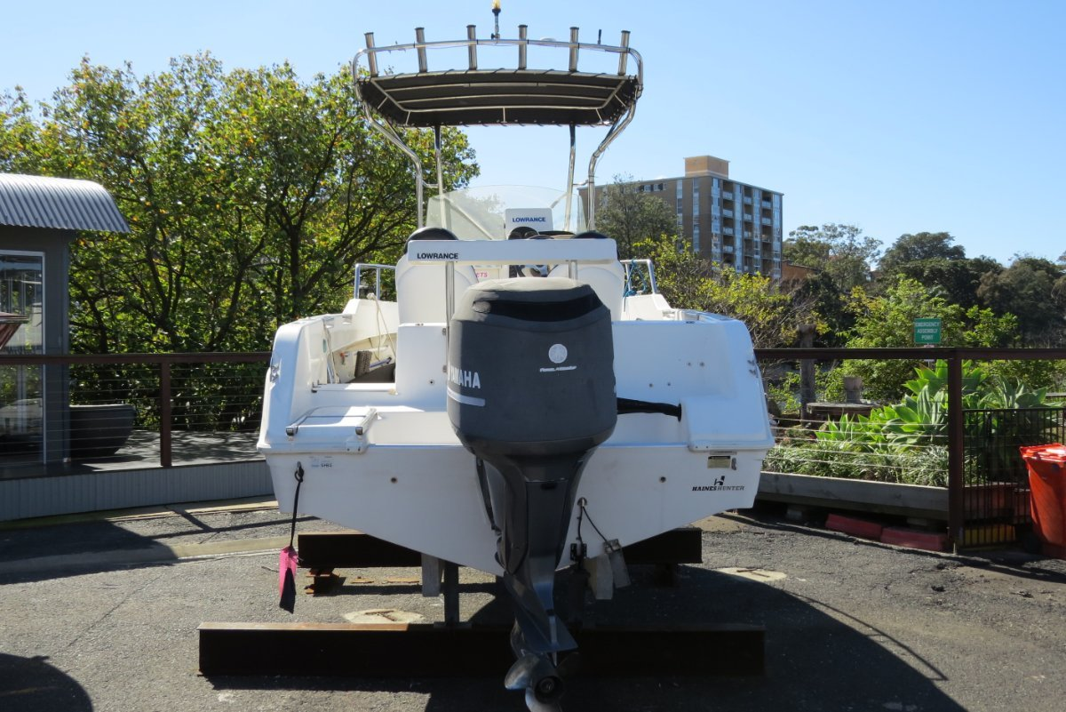 Haines Hunter 650 Prowler Centre Console