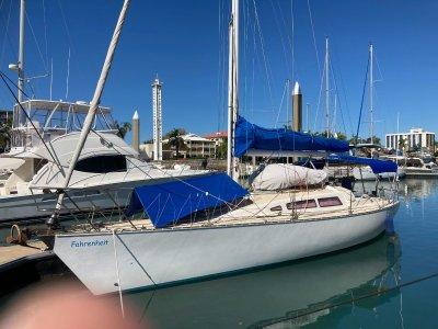 Farr 11.6 Cruiser/Racer with modern keel and rudder