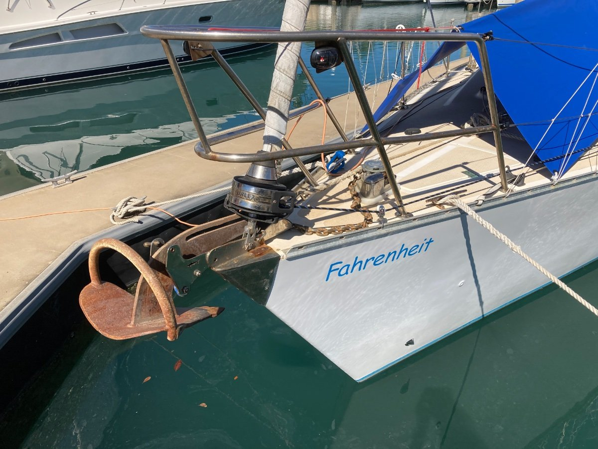 Farr 11.6 Cruiser/Racer with modern keel and rudder