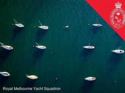 Swing Moorings at RMYS | Iconic St Kilda Location