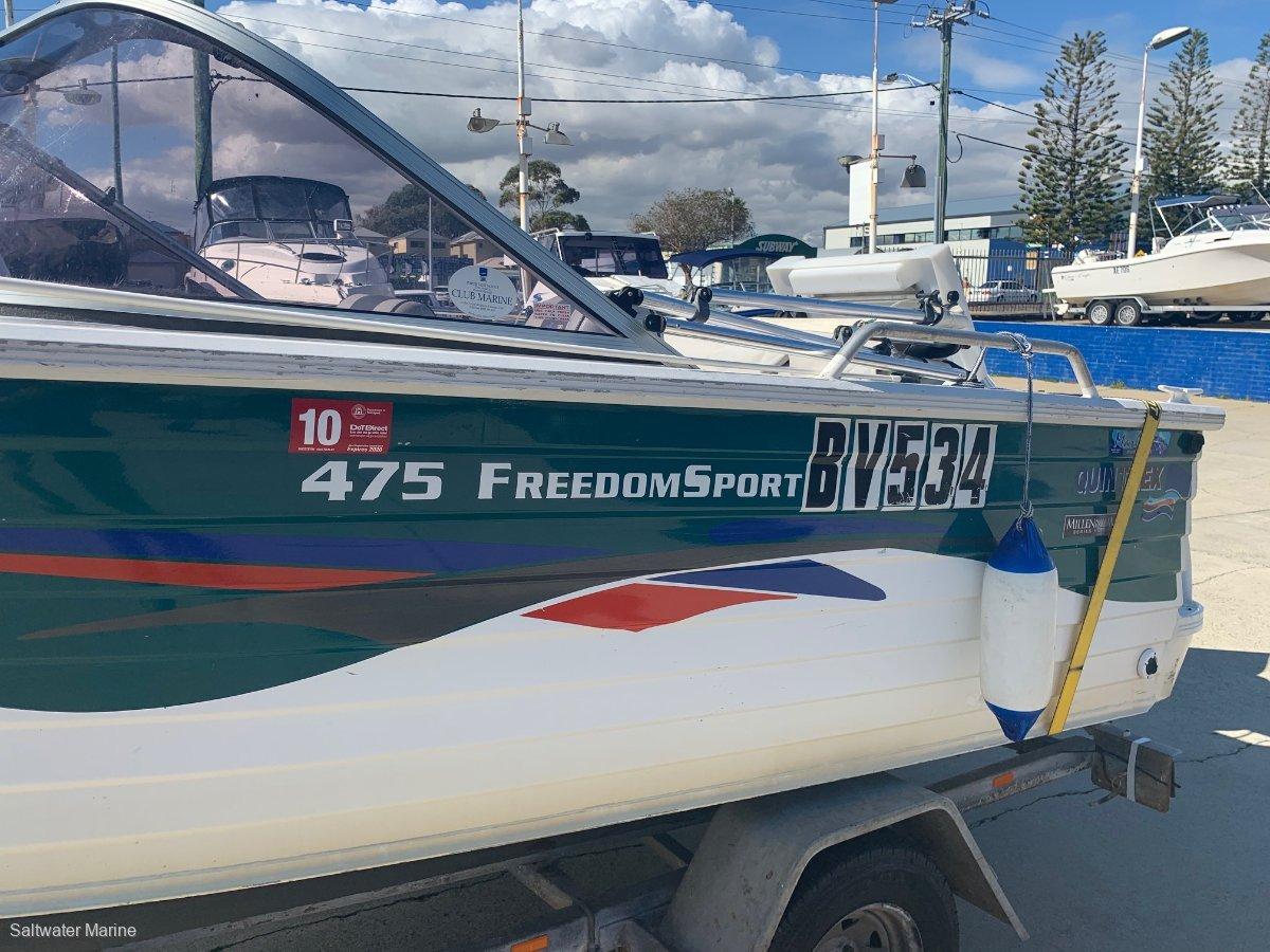 Quintrex 475 Freedom Sport