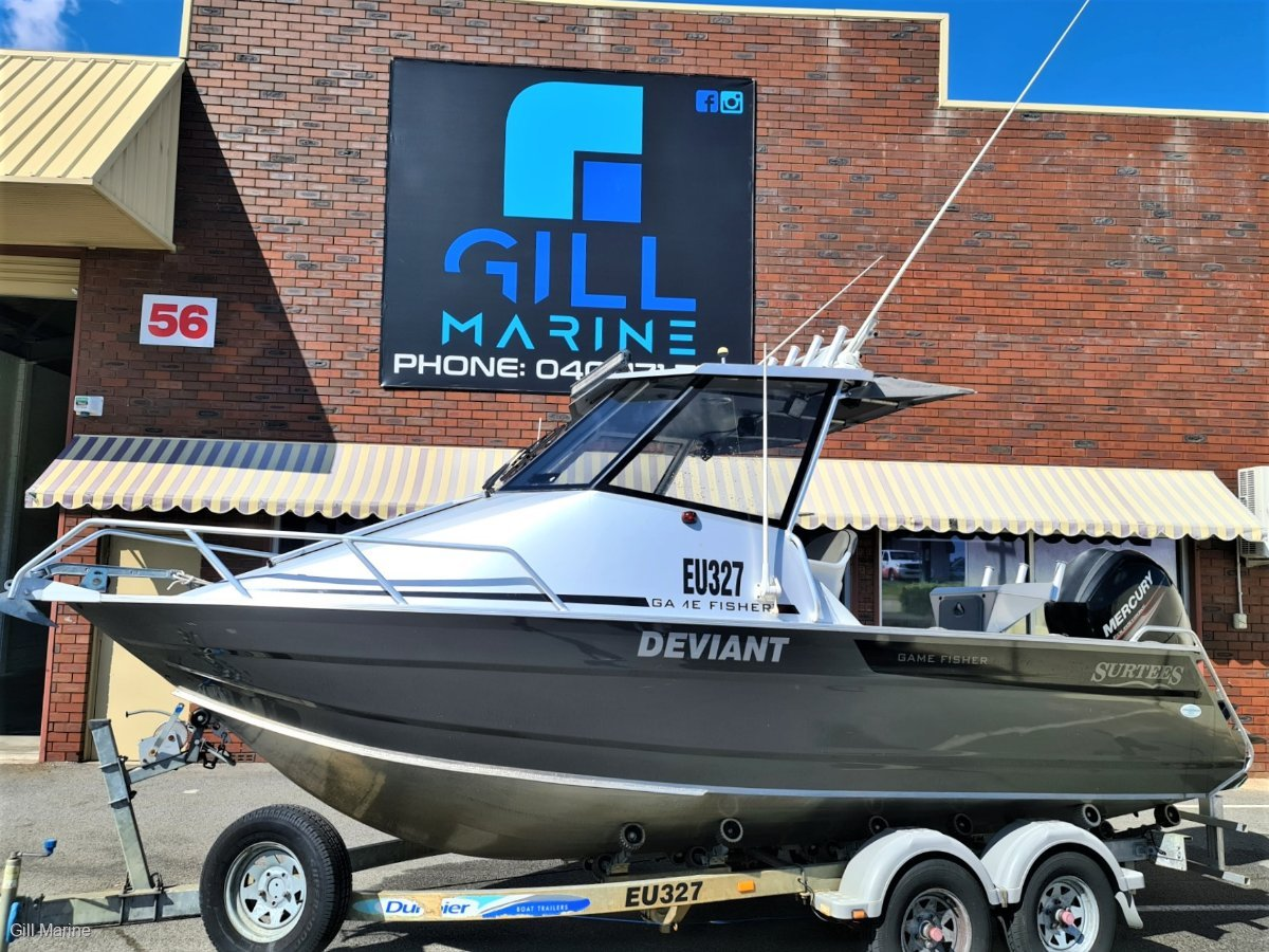 Surtees 610 Gamefisher HARD TOP OFFSHORE FISHING ICON..... !