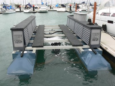 Boat-lift at bargain price suit cat up to 3000kg