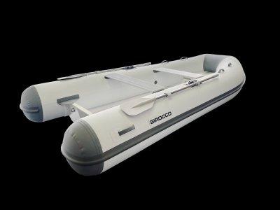 Sirocco Rib-FG 350 3.5m GRP flat inner floor / Hypalon Tender RIB
