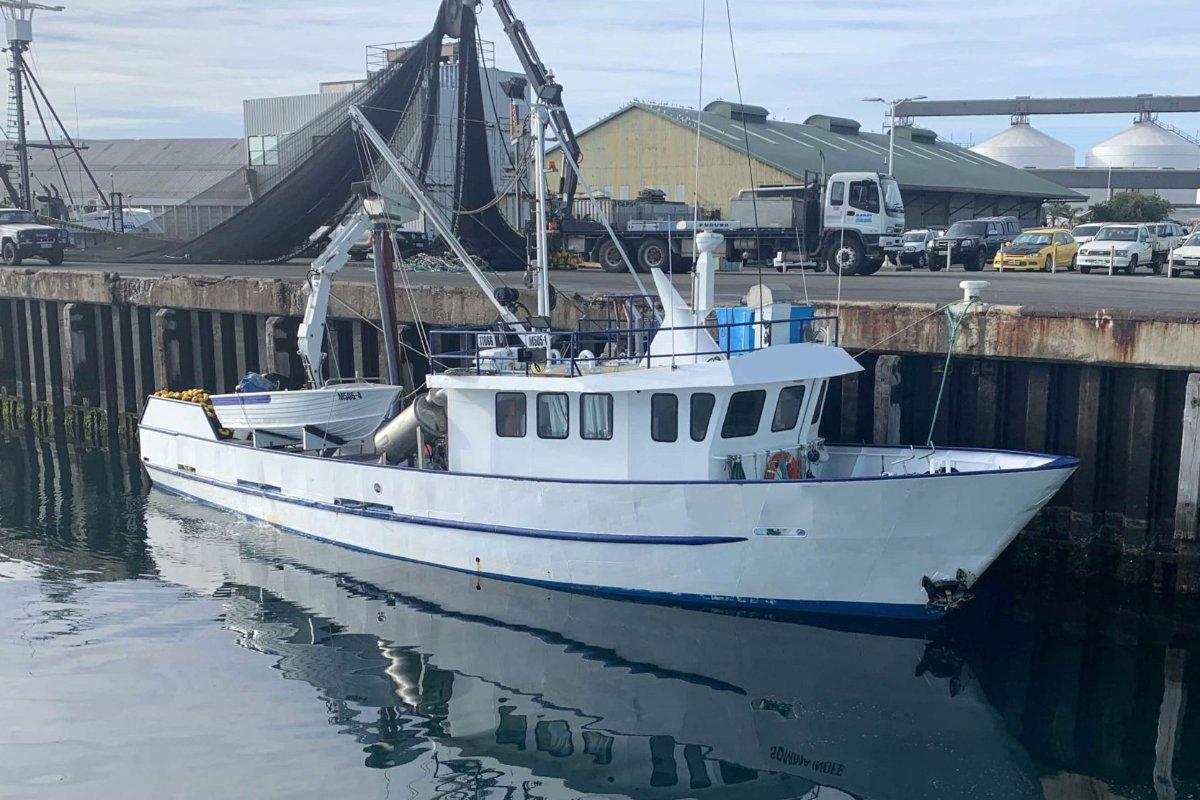 STEEL FISHING BOAT