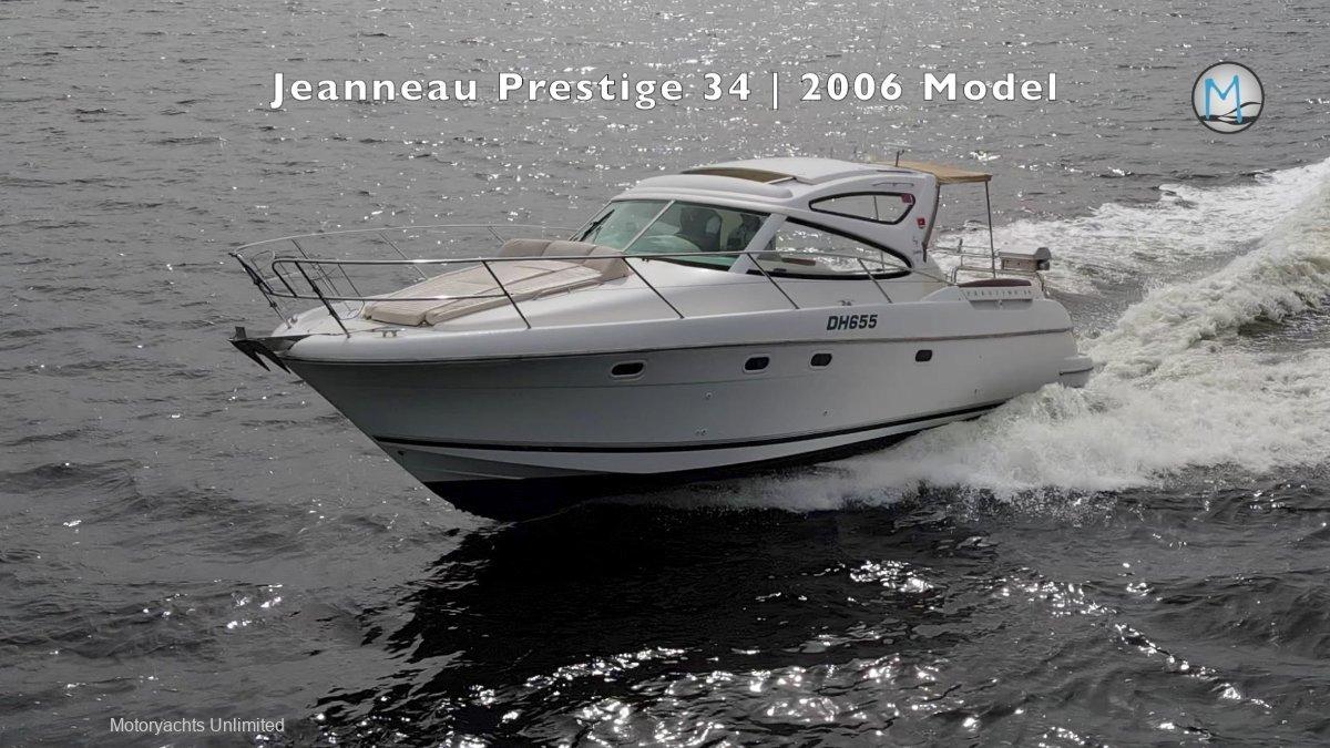 Jeanneau Prestige 34 Hard Top *** Diesel engines with hard top ***
