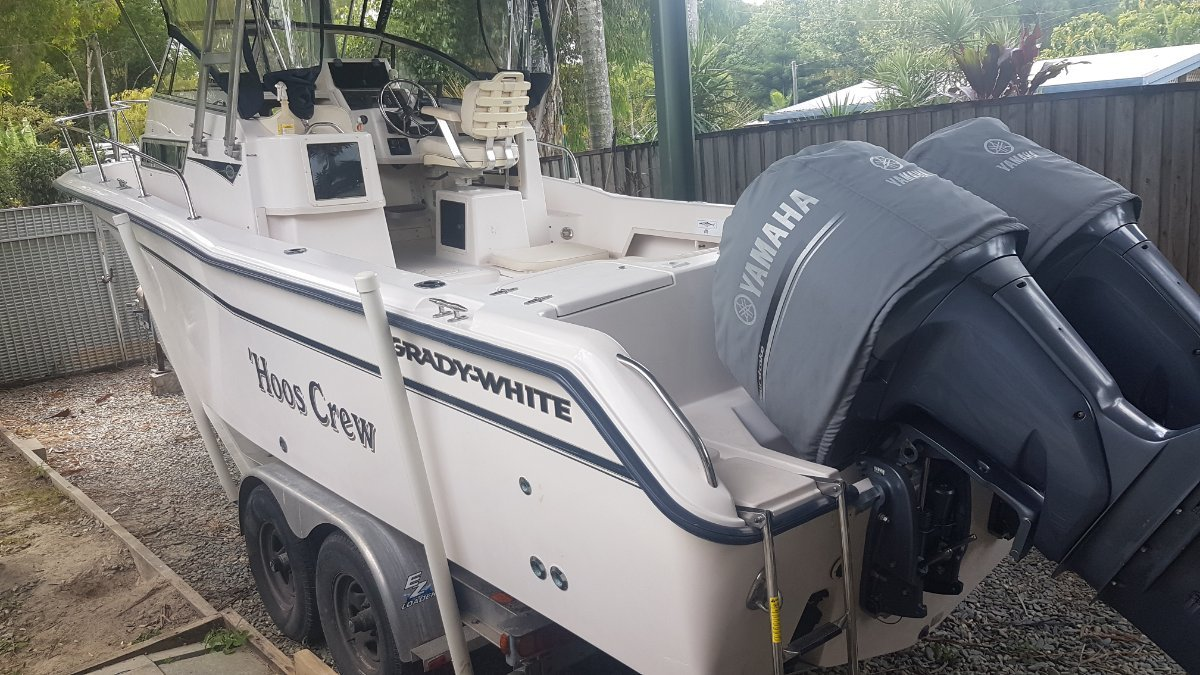 Grady-White 270 (8.2M) READY TO GO
