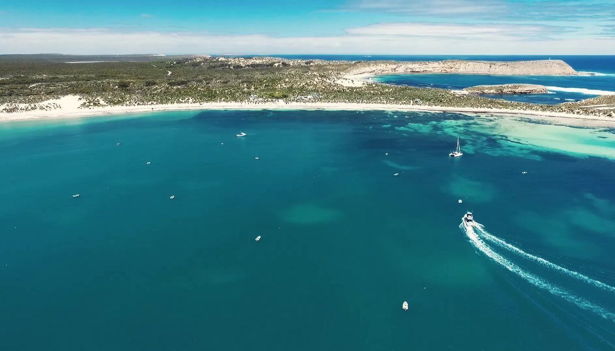 A unique opportunity to purchase a successful SA fishing charter business:Home Base, Pondalowie Bay, Innes National Park