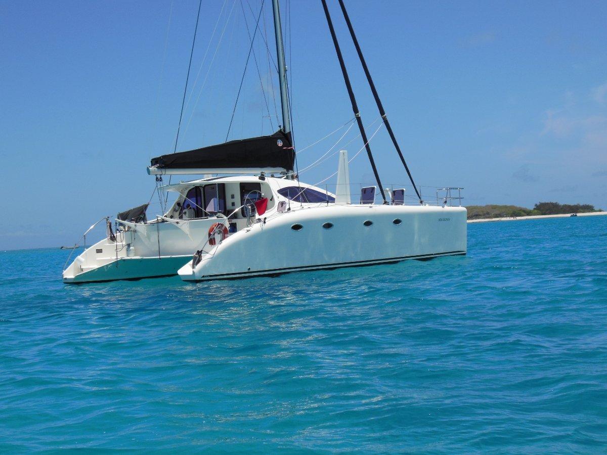 Spirited 380 Catamaran:Ara Leonis