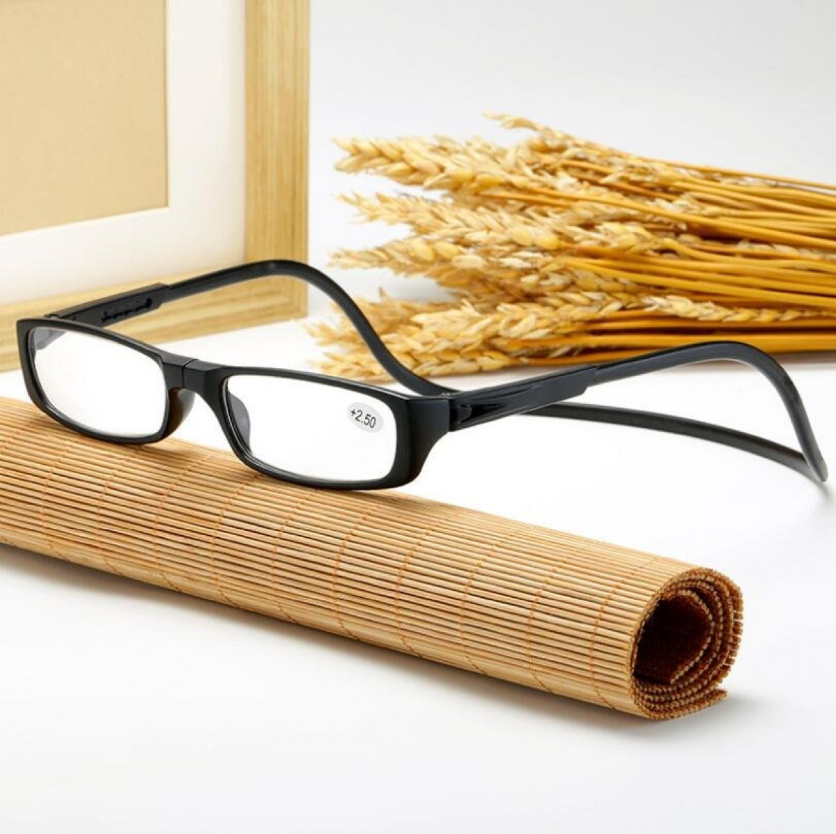 FOR YOUR EYES - Magnetic Connection Glasses - Threading hooks