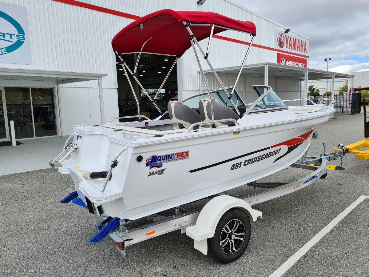 New Quintrex 481 Cruiseabout Bow Rider
