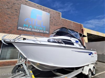 Stacer 589 Ocean Runner 2014 OFF SHORE FISHING BOAT FORSALE ONLY 125HOURS