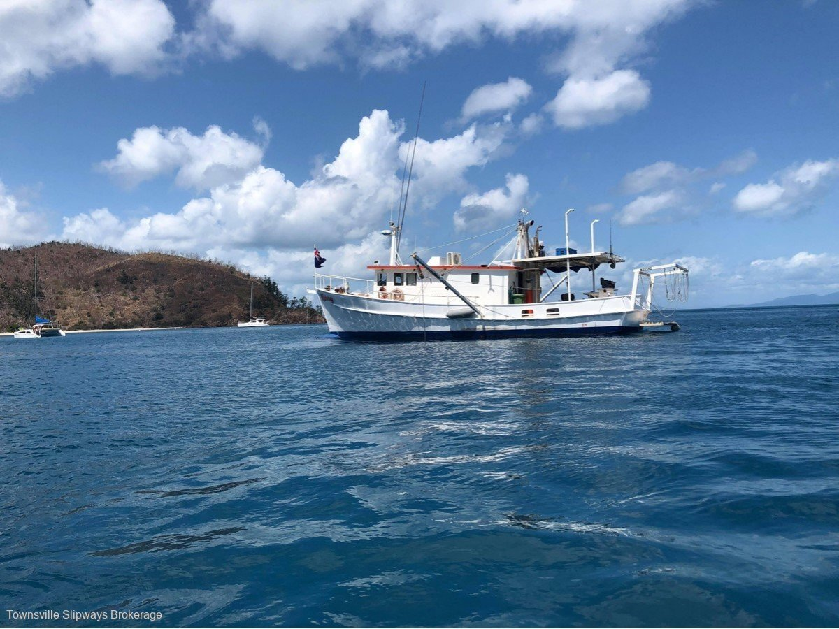 Coastal Cruiser Trawler Style Steel Coaster Motor Cruiser