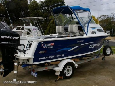 Quintrex 570 Spirit 2010 model 150hp