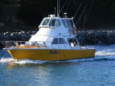 Randell 48 1C charter boat with NSW charter licence