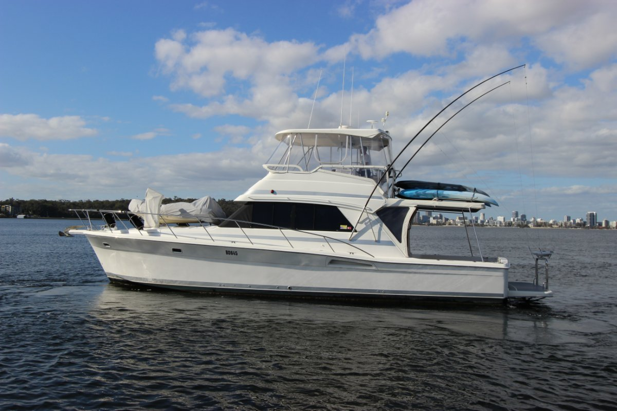 Riviera 43 Flybridge - Extended to 45ft