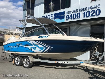 Sea Ray 200 Select with only 220 hours on the clock