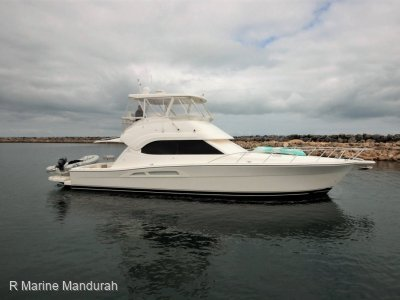 Riviera 47 Open Flybridge Series II MAN 900HP TWIN DIESEL WEAPON