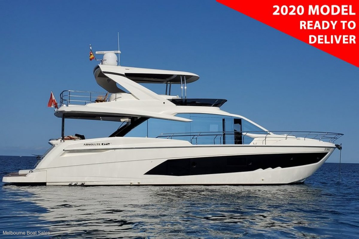 Absolute 62 Fly - 2020 Model - READY TO DELIVER