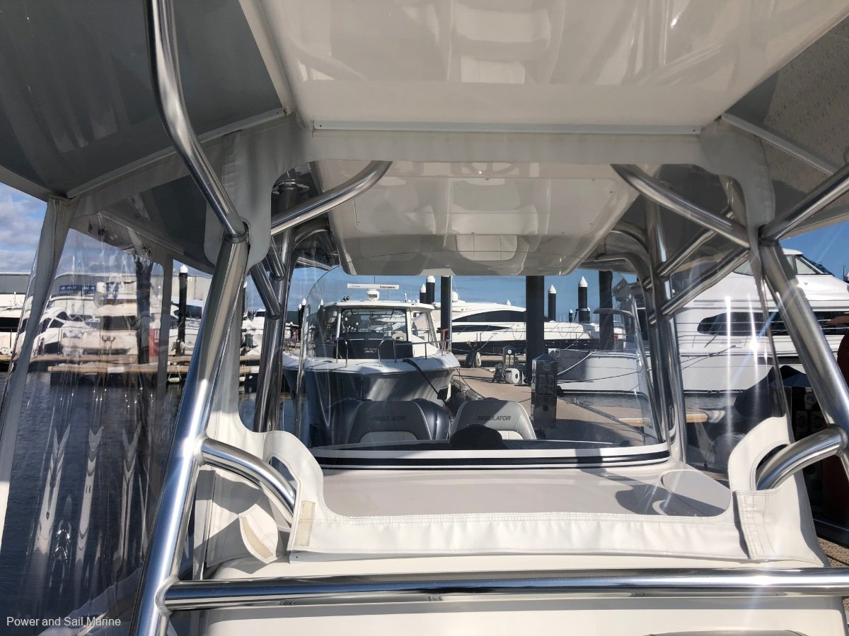 Regulator 34SS 2018 suit new boat buyer and why wait!!
