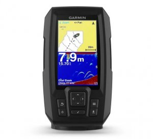 NEW Garmin Striker Plus 4, Fishfinder, GPS