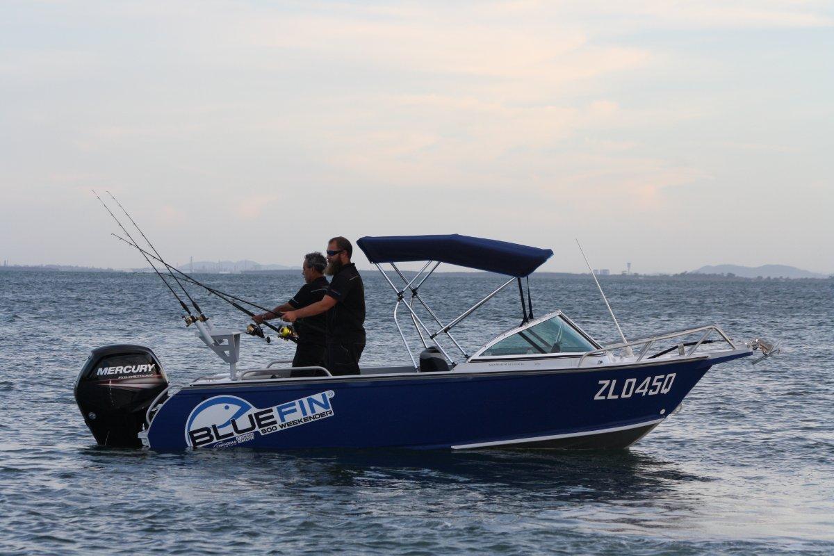 New Bluefin 4.80 Weekender