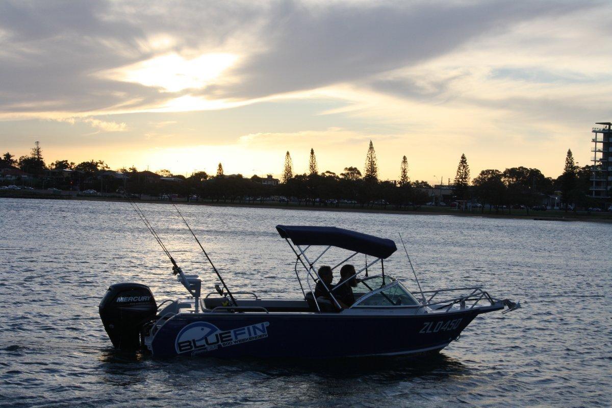 New Bluefin 5.40 Weekender