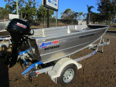 Quintrex F350 Outback
