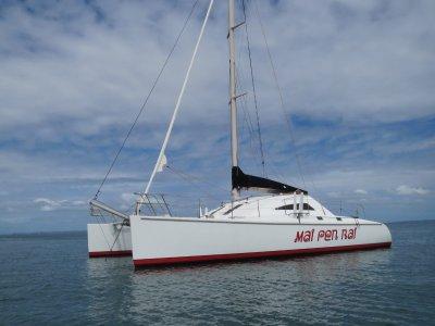 John Sayer Fast Cruising Sailing Catamaran