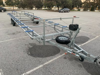 Custom Pontoon Trailer