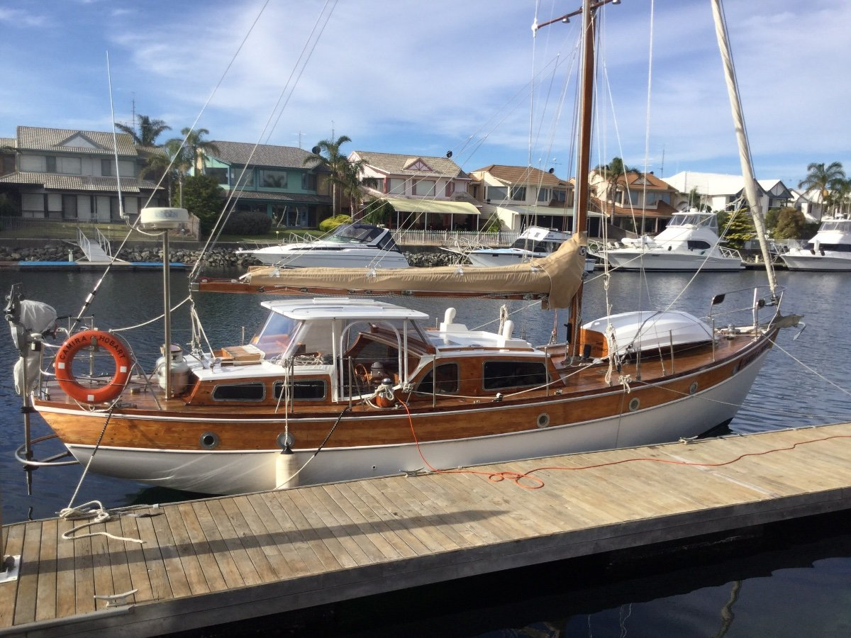 Huon Pine, Dick Thompson designed yacht