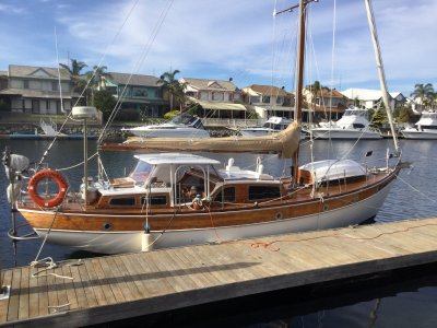 Huon Pine, Dick Thompson designed yacht