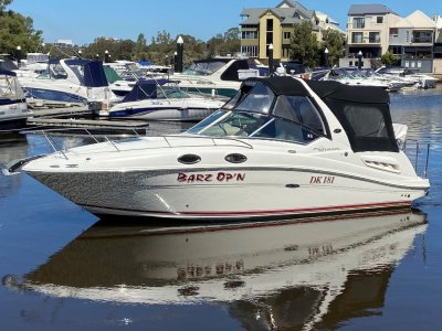 Sea Ray 260 Sundancer / 275 Sundancer with factory fitted bow thruster