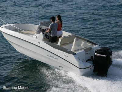 Karnic 1851 Open w/ Honda 115hp Outboard