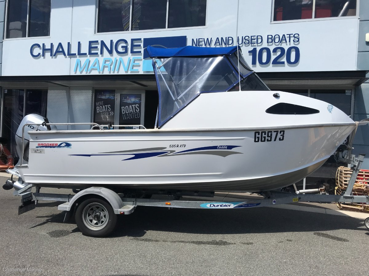 Brooker 535 Cuddy Xtreme With Honda 100HP 4 Stroke (188 hours)